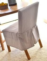 Dining Room Chair Slipcover Pattern Diy How To Make A Slip Cover For A Chair Chair Covers Craft And
