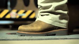 how to fit your pull on justin original workboots youtube