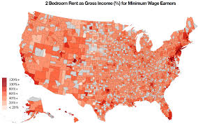 Usa Time Map by Rent Affordability In The Usa Visualization U0026 Tutorial Part 1