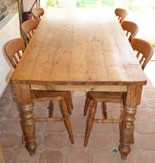 Amish Kitchen Table by Furniture Farmhouse Dining Table Harvest Dining Table Skinny