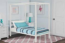 Platform Beds Sears - twin canopy bed sears com dorel home furnishings modern white