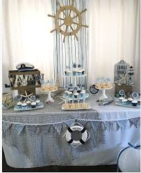 nautical baby shower decorations for home sencilla decoracion para baby shower en casa con familiares babies