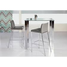 home depot stainless steel table furniture beth polished stainless steel bar table kit the home