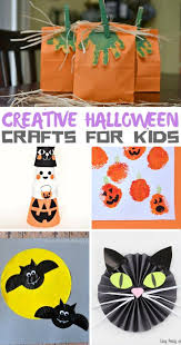 creative halloween crafts for kids craft and halloween ideas