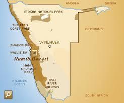 africa map kalahari desert namib desert 1