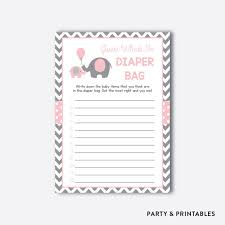 instant download elephant what u0027s in the diaper bag game elephant