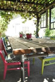 Pipe Patio Furniture by Diy Plumbing Pipe Table Tutorial Made All With Supplies From Home