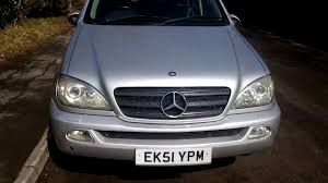 my new car 2002 mercedes benz ml320 w163 youtube