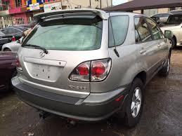 lexus rx300 in nairaland lexus rx300 2003 unique black interior 2 2m autos nigeria
