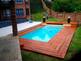 furniture prepossessing amusing rectangle swimming pool wood