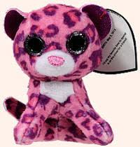 2014 mcdonalds ty teenie beanie boo glamour pink