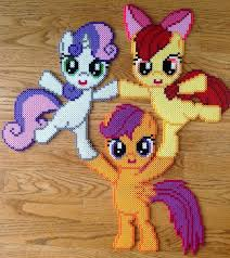 christmas ornaments my little pony ornaments by burritoprincess