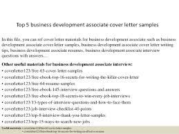 top 5 business development associate cover letter samples 1 638 jpg cb u003d1434969098