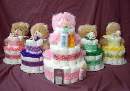 personalized diaper cakes baby shower planning diaper cakes