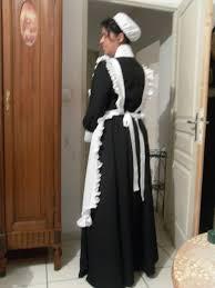 femme de chambres costume de femme de chambre style 1900 gladys duval couturière