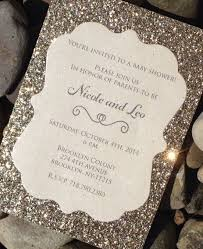 wedding invitations glitter glitter wedding invitations best photos page 2 of 5