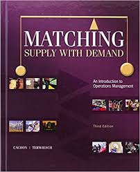 amazon black friday matching deals matching supply with demand an introduction to operations