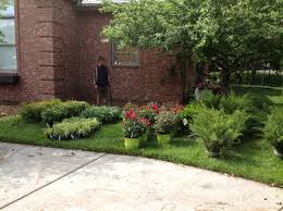 Front Lawn Landscaping Designs by Front Yard Landscaping Ideas Landscape Design Wichita Ks