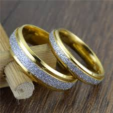 golden silver rings images Gold silver couple rings blurmark jpg