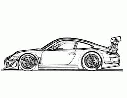 porsche 911 gt3 race car coloring pages free online cars