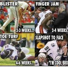 Injury Meme - hockey injury meme