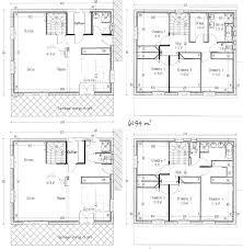 plan etage 4 chambres plan maison etage 4 chambres 1 bureau gallery of plan maison plain