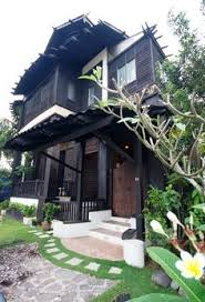 Modern Traditional House Another Traditional Pahang Malay House Malaysia Time Honored