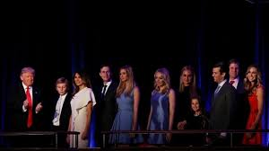will live in the white house with my family donald