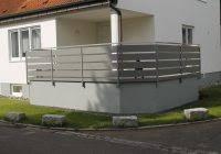 terrassenã berdachung mit balkon alu geländer terrassenã berdachung mit gelã nder aus alu