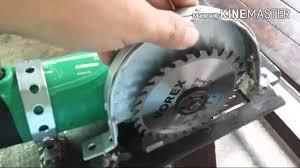 convert portable circular saw to table saw circular saw for 4 angle grinder youtube