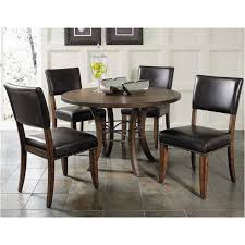 hillsdale cameron dining table 4671 814 hillsdale furniture cameron round metal ring table