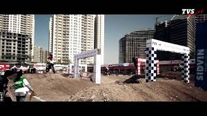 tvs motocross bikes team tvs at mrf national motocross championship pune 2014 youtube