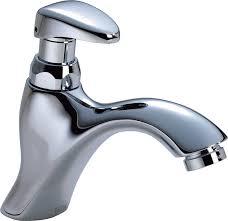 delta faucet 87t105 87t single hole metering slow close bathroom