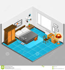 Home Interior Vector by Home Interior Isometric Illustration Stock Vector Image 69331124
