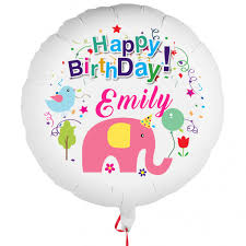 personalised balloons personalised photo balloon