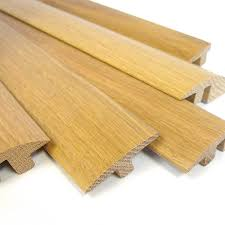 T Shaped Transition Strip by Premium European Solid Oak Door Thresholds 3m Long Door Strips