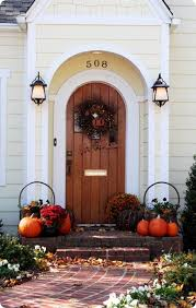 Fall Harvest Outdoor Decorating Ideas - 85 pretty autumn porch décor ideas digsdigs