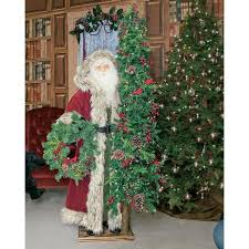 Life Size Santa Claus Decoration Introducing Ditz Designs Father Christmas Santa Collection For