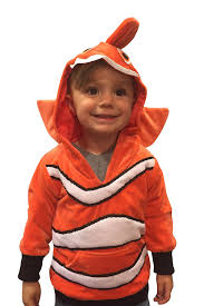 amazon com handmade kids high quality daily wear clownfish hoodie