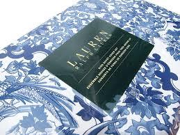 Porcelain Blue Duvet Cover Amazon Com Ralph Lauren Tamarind Porcelain Blue 3pc Full Queen