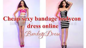 cheap bandage bodycon dress online youtube