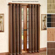 patio doors patiog door curtains blackout glass curtain with wand