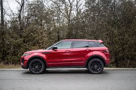 red range rover review 2017 range rover evoque hse dynamic canadian auto review