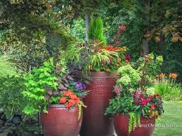 Herb Garden Pot Ideas 40 Creative Garden Container Ideas And Plant Pots Recycled Garden
