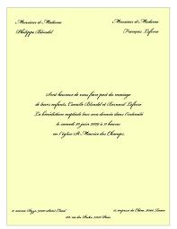 invitation mariage texte texte invitation mariage modèle de lettre