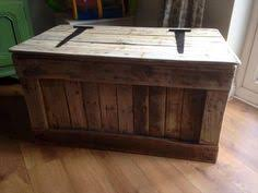 Build A Toy Box Chest by Wooden Toy Blanket Box Made From Pallets Upcycling Recycling