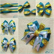 ribbon hair bows diy beautiful satin ribbon bow hair clip