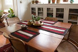 Coffee Table Runners Shadow Weave Placemat And Table Runner Knitting Patterns And