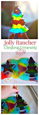 melted jolly rancher ornaments a craft jolly