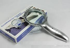 hand held magnifying glass with light discount high fashion illuminated magnifier with light hand held